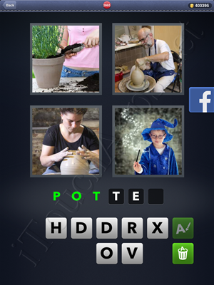 4 Pics 1 Word Level 2860 Solution