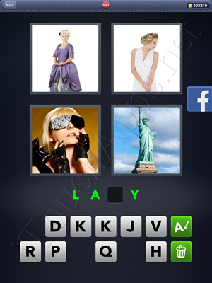 4 Pics 1 Word Level 2861 Solution