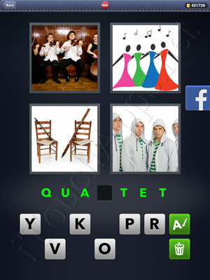 4 Pics 1 Word Level 2866 Solution