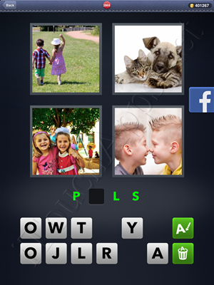 4 Pics 1 Word Level 2868 Solution