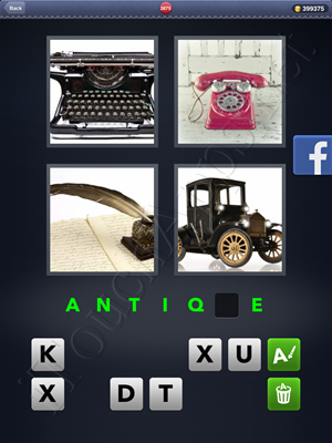 4 Pics 1 Word Level 2875 Solution