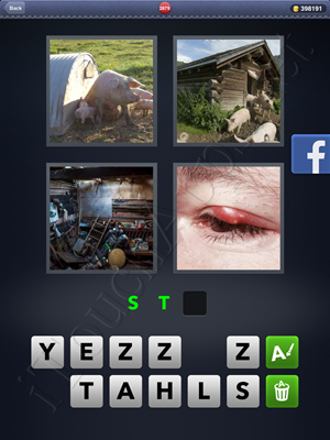 4 Pics 1 Word Level 2879 Solution