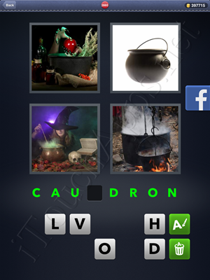 4 Pics 1 Word Level 2880 Solution