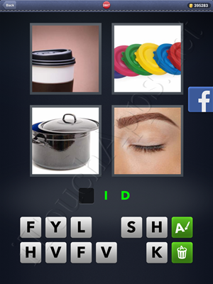 4 Pics 1 Word Level 2887 Solution