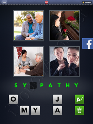 4 Pics 1 Word Level 2892 Solution