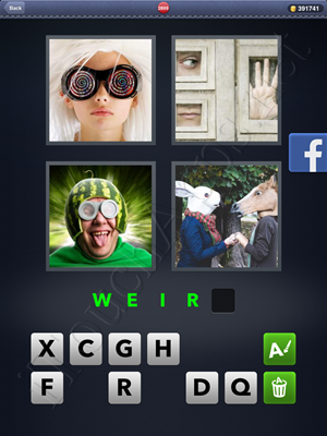 4 Pics 1 Word Level 2899 Solution