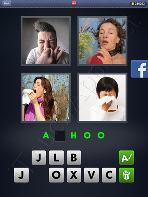 4 Pics 1 Word Level 2917 Solution