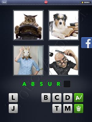 4 Pics 1 Word Level 2934 Solution