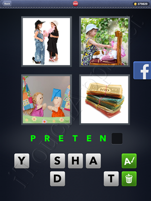 4 Pics 1 Word Level 2936 Solution