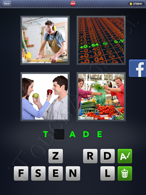 4 Pics 1 Word Level 2939 Solution