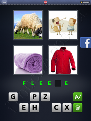 4 Pics 1 Word Level 2940 Solution
