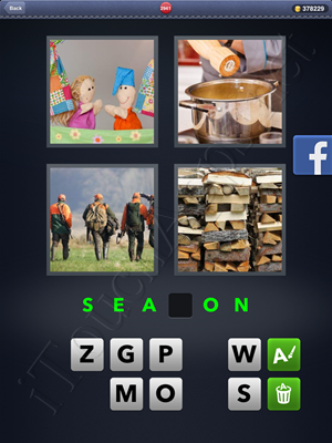 4 Pics 1 Word Level 2941 Solution