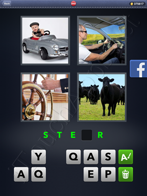 4 Pics 1 Word Level 2948 Solution