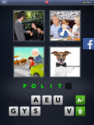 4 Pics 1 Word Level 2957 Solution