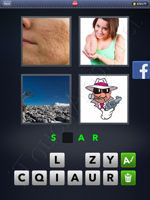 4 Pics 1 Word Level 2958 Solution
