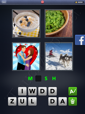 4 Pics 1 Word Level 2969 Solution