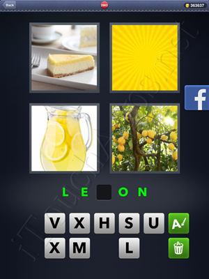 4 Pics 1 Word Level 2983 Solution