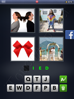4 Pics 1 Word Level 2986 Solution