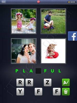 4 Pics 1 Word Level 2987 Solution