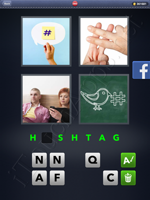 4 Pics 1 Word Level 2989 Solution