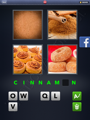 4 Pics 1 Word Level 2992 Solution