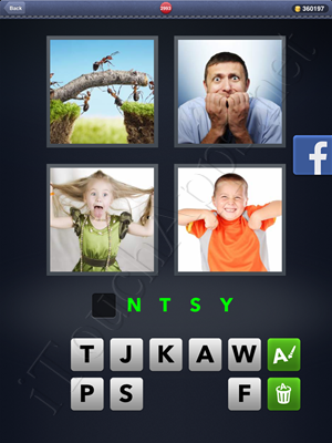 4 Pics 1 Word Level 2993 Solution