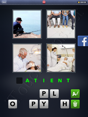 4 Pics 1 Word Level 2996 Solution