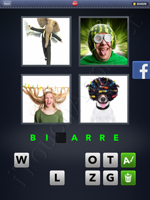 4 Pics 1 Word Level 3011 Solution