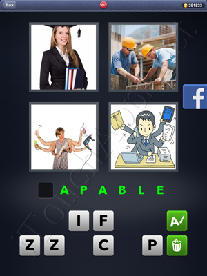 4 Pics 1 Word Level 3017 Solution