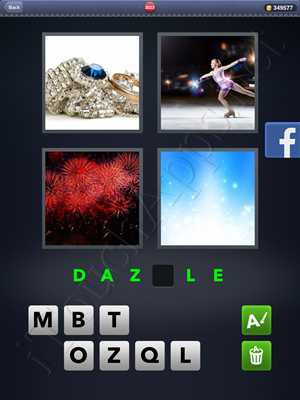 4 Pics 1 Word Level 3023 Solution