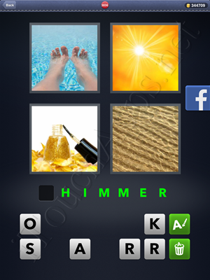 4 Pics 1 Word Level 3036 Solution