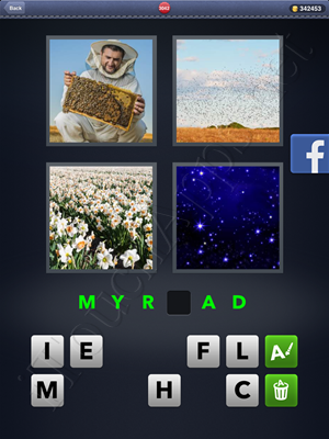 4 Pics 1 Word Level 3042 Solution