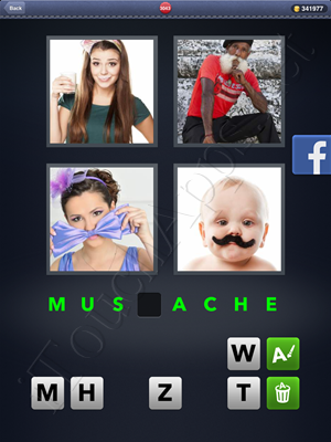 4 Pics 1 Word Level 3043 Solution
