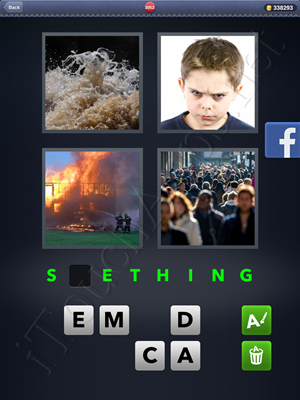 4 Pics 1 Word Level 3052 Solution