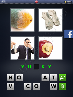 4 Pics 1 Word Level 3061 Solution