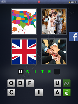 4 Pics 1 Word Level 3063 Solution