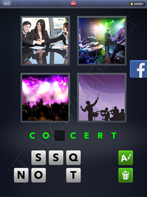 4 Pics 1 Word Level 3064 Solution