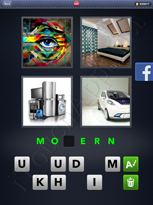 4 Pics 1 Word Level 3068 Solution