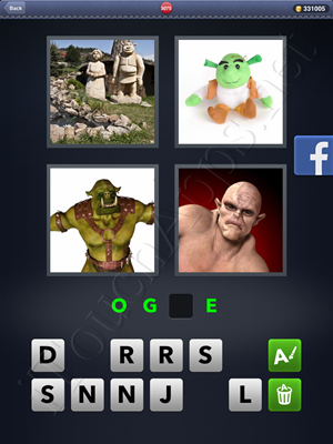 4 Pics 1 Word Level 3075 Solution