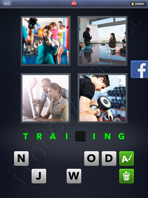 4 Pics 1 Word Level 3079 Solution