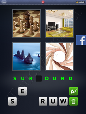 4 Pics 1 Word Level 3081 Solution