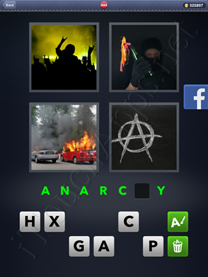 4 Pics 1 Word Level 3088 Solution