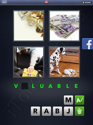 4 Pics 1 Word Level 3097 Solution