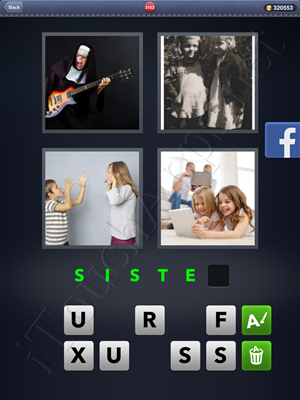 4 Pics 1 Word Level 3102 Solution