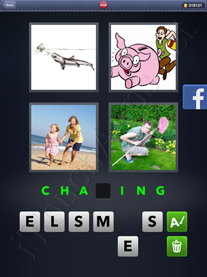 4 Pics 1 Word Level 3109 Solution
