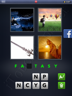 4 Pics 1 Word Level 3118 Solution