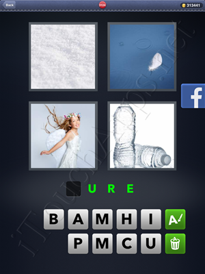 4 Pics 1 Word Level 3124 Solution