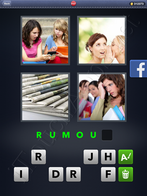 4 Pics 1 Word Level 3127 Solution