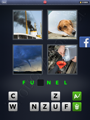 4 Pics 1 Word Level 3132 Solution