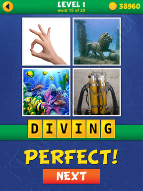 4 Pics Mystery Level 1 Word 15 Solution